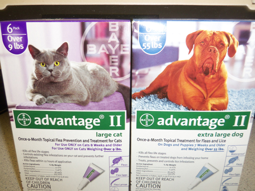 Advantage II Cat - Over 9lbs